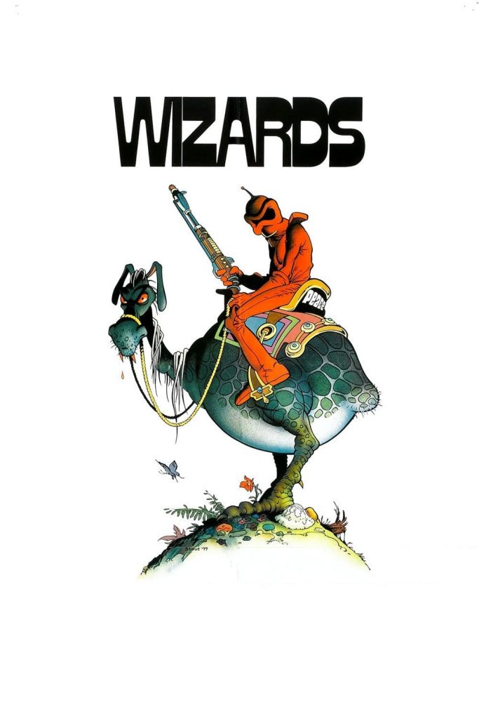 "Poster for the movie ""Wizards"""