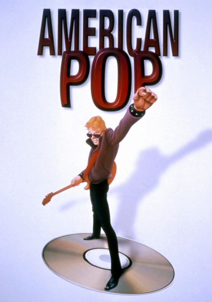 "Poster for the movie ""American Pop"""