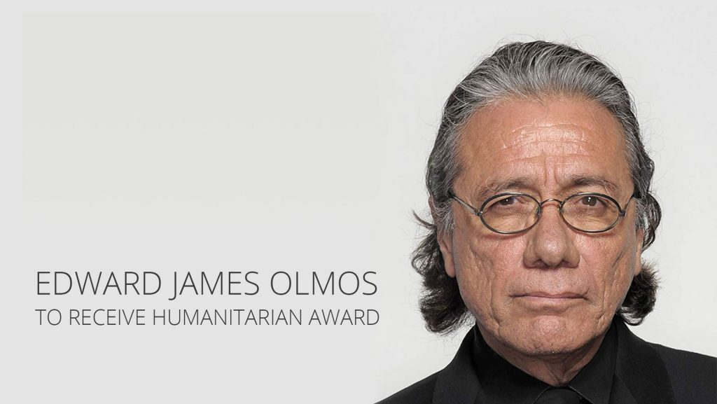 Edward James Olmos to Receive Humanitarian Award at Film Festival
