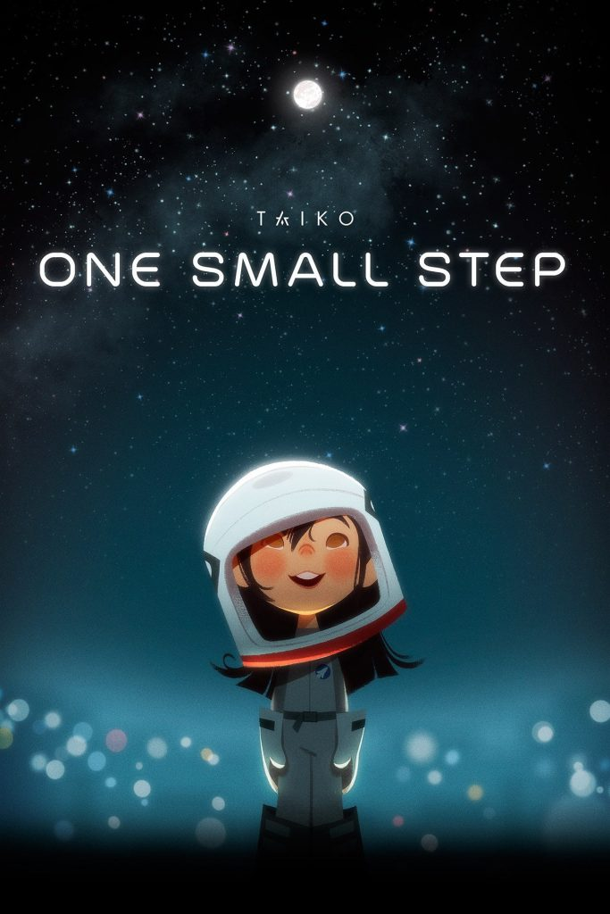 "Poster for the movie ""One Small Step"""