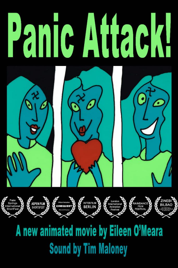 """Poster for the movie """"Panic Attack!"""""""