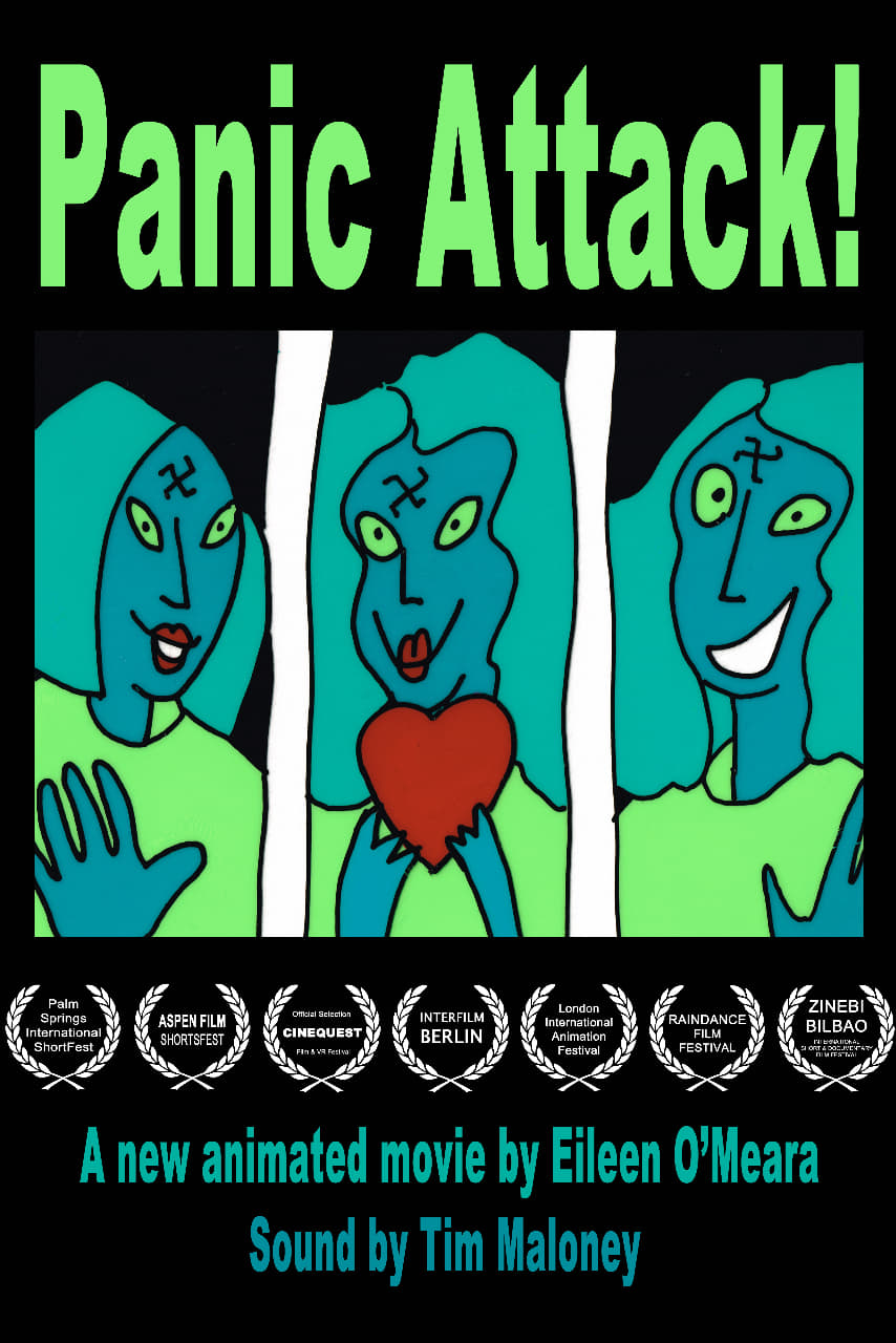 "Poster for the movie ""Panic Attack!"""