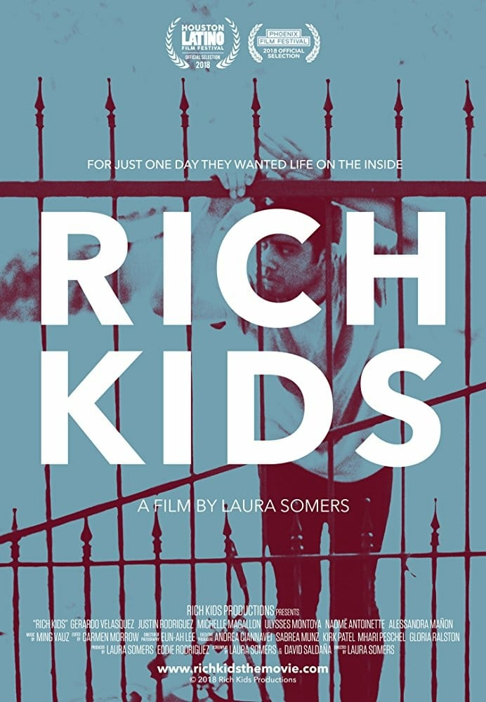 "Poster for the movie ""Rich Kids"""