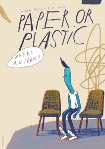 """Poster for the movie """"Paper or Plastic"""""""