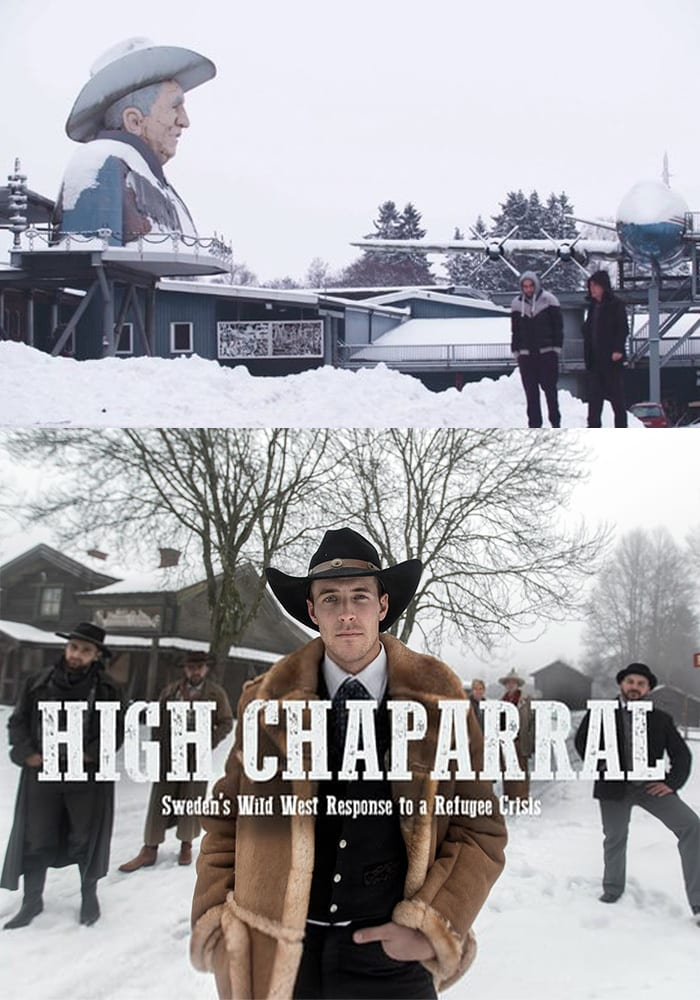 "Poster for the movie ""High Chaparral"""